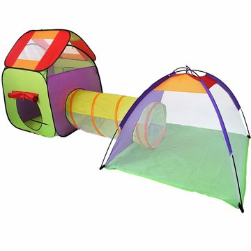Ballenbad 3-delig met draagtas voor binnen en buiten - huisje-tunnel-koepel