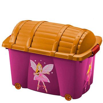 Opbergbox, speelgoedkist Fee, 50 liter, opbergkist