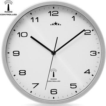 Wandklok, klok, uurwerk, tijdsaanduiding, radiogestuurd, horloge