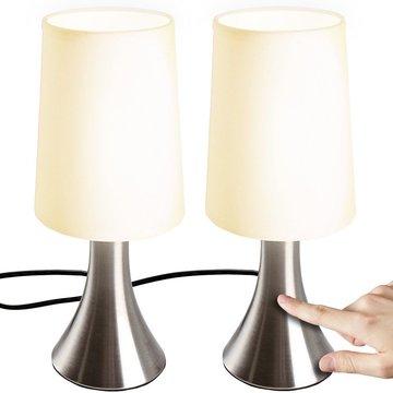 Dimbare tafellamp, nachtlamp, set van 2 stuks