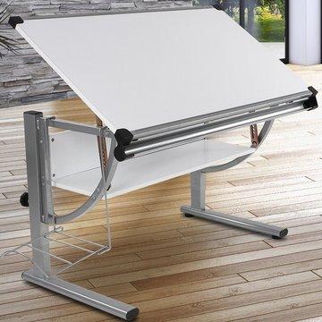 Kinder tekentafel wit, schrijftafel, bureau