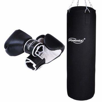 Bokszak, boks set met handschoenen, boxingset