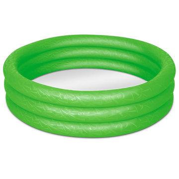Zwembad, groen, kinderbadje, babybadje