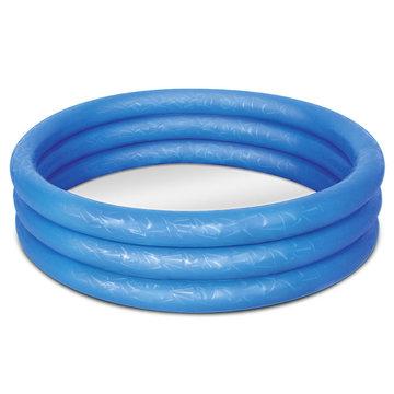 Zwembad, blauw, kinderbadje, babybadje