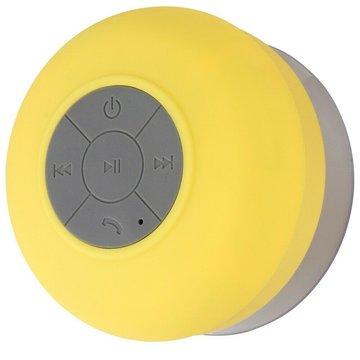 Bluetooth speaker geel, waterdicht