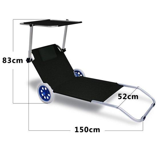 Strandstoel Met Wieltjes.Tweede Kans Artikel Inklapbare Strandstoel Met Wielen