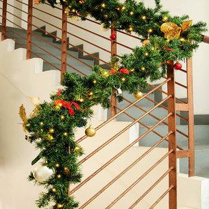 Kerstslinger, guirlande 80 led 's en decoratie voor binnen & buiten, 5 meter