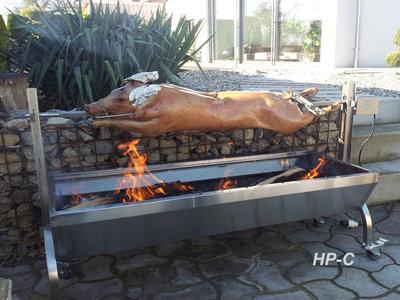 BBQ Grill met motor spit lamsgrill, speenvarken, varkensgrill max 70kg