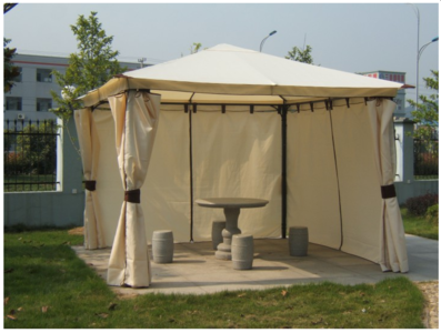 partytent paviljoen 3 x 3 4 zijdig afsluitbaar venezia somultishop. Black Bedroom Furniture Sets. Home Design Ideas
