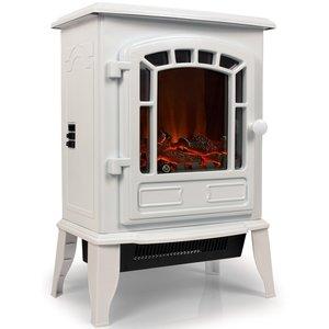 electrische haard sfeerhaard torino wit somultishop. Black Bedroom Furniture Sets. Home Design Ideas