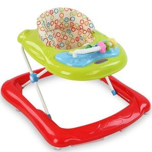 Loopstoeltje Kinderstoeltje Baby Walker Rood Somultishop