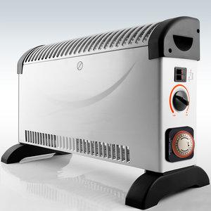 Elektrische kachel verwarming convectorkachel met for Zuinige elektrische verwarming met thermostaat