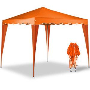 Partytent Paviljoen 3x3, Capri oranje