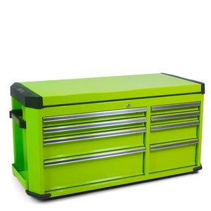 """Gereedschapskist voor brede gereedschapswagen - """"professionele serie"""" - Groen"""