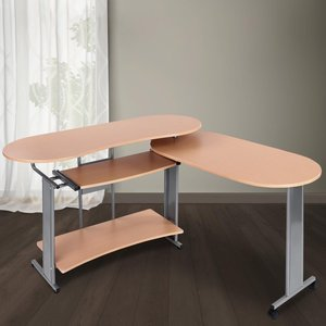 Bureau, computertafel, bureautafel, beuken, bureau, buro, schrijftafel, kantoormeubel