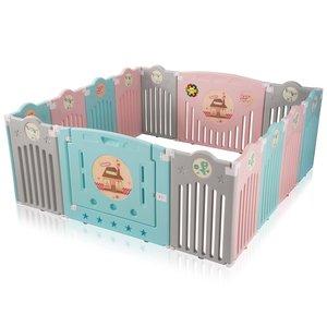 Grondbox, kruipbox, speelbox, playpen, baby, peuter en kind afscherming - Safari