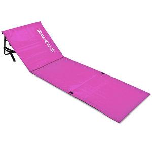 Strandmat met rugleuning, roze, strand bed, ligbed