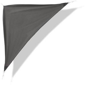 Schaduwdoek, grijs, 3,6 x 3,6 x 3,6m, zonnescherm, zonnedoek