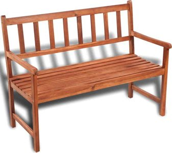 """Tuinbank, """"Winston"""", Hout, L 115 cm - 2 persoons"""