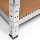 Metalen Opbergrek tot 280kg, stellingkast, metaal kleur, 170x75x30cm_