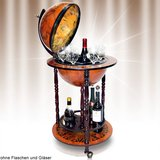Minibar/globebar, wereldbol, cocktailbar_