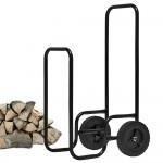 Houtwagen, houttrolley, houtkar_
