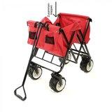 Bolderkar, transportkar, opvouwbaar, rood, offroad_