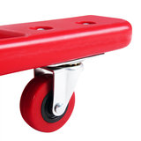 Verrijdbare ligmat, garage ligbed, werkbank, werkkruk, rolbord, rolplank, montage rolplank_