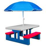 Kinderpicknicktafel, picknickset_