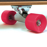 Longboard, skateboard California 112 cm , roze, 44 Inch_