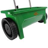 Strooiwagen, zoutstrooier, kunstmeststrooier, instelbaar, regelbaar, 12 liter_