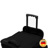Trolley, reistas, zwart, afsluitbaar, met slot, 85 liter, roltas_