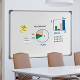 Whiteboard, magneetbord, whitebord, wit, wandbord, schrijfbord, met magneten_