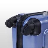 Kofferset, set van 3 koffers, ijsblauw, trolleyset, reiskofferset_