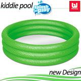 Zwembad, groen, kinderbadje, babybadje_
