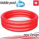 Zwembad, rood, kinderbadje, babybadje_