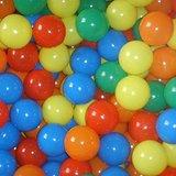 1000 Ballenbakballen, Ballenbak, gekleurde ballen_