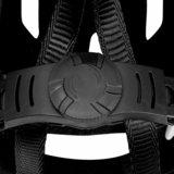 Fietshelm rood/zwart/wit, sporthelm, skatehelm_