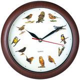 Klok met vogel geluiden, wandklok, kinderklok, dierenklok_