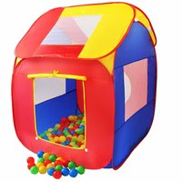 Ballenbad huisje met 200 ballen plus draagtas voor binnen en buiten