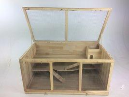 Hamsterkooi met 3 niveaus