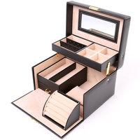 Sieradendoos, uitklapbaar, juwelenbox, juwelendoos, sieradenbox