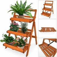 Plantenetagière, plantentrap, bloementrap, plantenladder, bloemenladder, planttrap