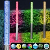 4x-LED-lamp, kleur wisseling, buitenlamp, tuinverlichting, tuinlampen