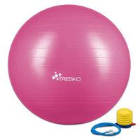 Yogabal Roze 55 cm, Trainingsbal, Pilates, gymbal