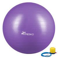 Yogabal Paars 85 cm, Trainingsbal, Pilates, gymbal