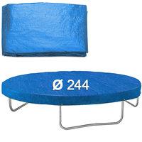 Afdekhoes trampoline, 244 cm, regenhoes trampoline