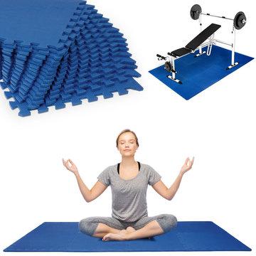 Vloermat, fitnessmat, puzzelmat, ondergrond, sportmat 180 x 90