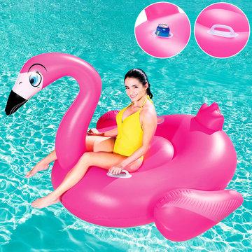 XXL Opblaasbare flamingo