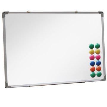 Whiteboard, magneetbord, whitebord, wit, wandbord, schrijfbord, met magneten